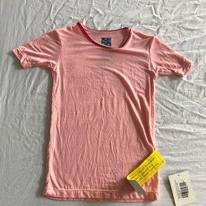 Kickee pants pink top